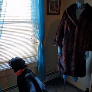 Vintage Jackets & Coats - Vintage Beaver Fur Coat